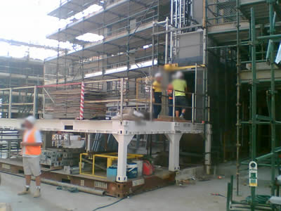 hoist platform